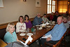 LightChase Groupies enjoying dinner at the Old Faithful Ski Lodge - Yellowstone National Park, Wyoming - Rita Burrows - June 2014<br /> <br /> L to R: Judie Brooks, Rita Burrows, Jenni Moncrieff, Grizzley Joe, Nancy Varga, Mark R., Mary Anderson, Marti Farwell, Sheldon Farwell, Jay Brooks.