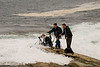 Surf's Up - Hammered by the Atlantic - Nova Scotia - October 2008<br /> L - R: John Remy, Paul Riewerts, Mark Rasmussen
