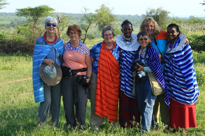A Gathering of the Ladies - Tanzania, Africa - Cathryn Ren  - February 2016