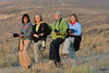 Feeling Frisky - Wild Horse Tour, Green River, Wyoming - Doug Beezley - August 2013<br /> <br /> L-R:  Sue Cole, Chris Sprik, Sandy Reed, Jenny Cummings  (All four are nurses from the Holland - Grand Rapids area of Michigan - this is the way patient care should be)