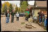 Ice Cream Break at the Redstone, Colorado General Store - Colorado-Utah Fall Tour 2012<br /> <br /> L-R: Don Plocher, Mark Rasmussen, Marti Gaulrapp, Sandy Reed, Dennis Krukover, Doug Beezley, Jenny Cummings.  Photo by Ray  Debosch