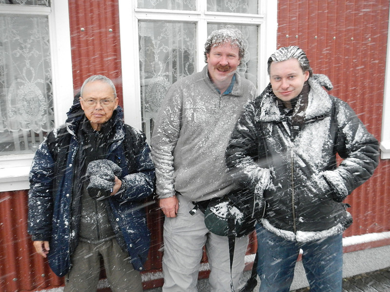 No Hats, No Gloves, No Sense - Iceland - Michael Kirkland - March 2014<br /> <br /> L-R: Cosmas Liu, MD, Mark Rasmussen, Dennis Krukover