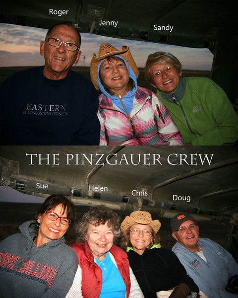 Pinzgauer Crew - Wild Horse Tour, Green River, Wyoming - Chris Sprik - August 2013