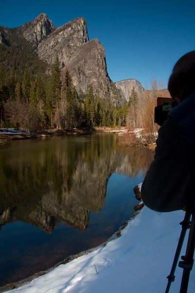 """The Photographers Perspective"" - Sequoia-Yosemite Winter Tour - D'An Holmes Glueckert - February 2013"