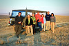 The Golden Hour & The Pinzgauer - Wild Horse Tour, Green River, Wyoming - Chris Sprik - August 2013<br /> <br /> L-R: Mark Rasmussen, Chris Sprik, Sandy Reed, Doug Beezley, Jenny Cummings, Roger Luft, Sue Cole - Photographed by our guide and driver, Rich Nobler