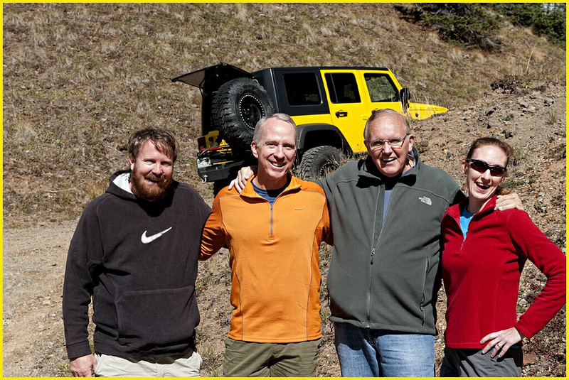 L - R: Mark Rasmussen, Mc Blasdell, Doug Beezley, D'An Glueckert<br /> Fall Colorado-Utah Tour - September - October 2012