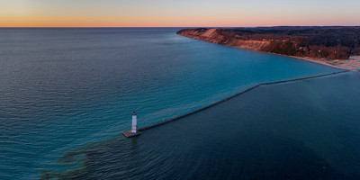 Frankfort Shore Aerial
