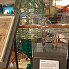 Santa Barbara Maritime Museum. First Order Fresnel Lens from Point Conception Lighthouse.<br /> Santa Barbara CA walk-about 07sep2017