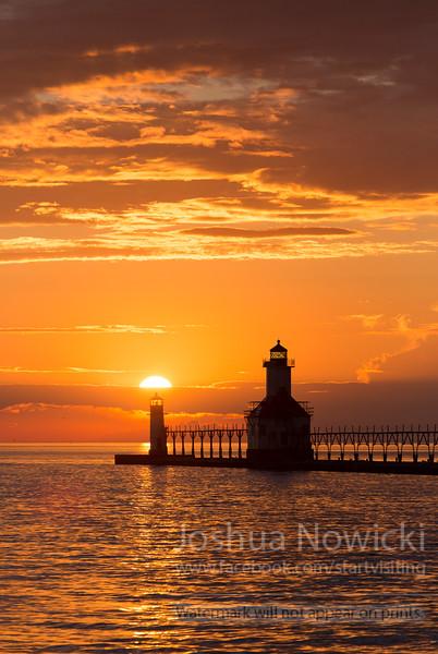 Lighthouse - Saint Joseph, Michigan