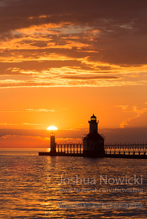 Lighthouse - Saint Joseph, Michigan