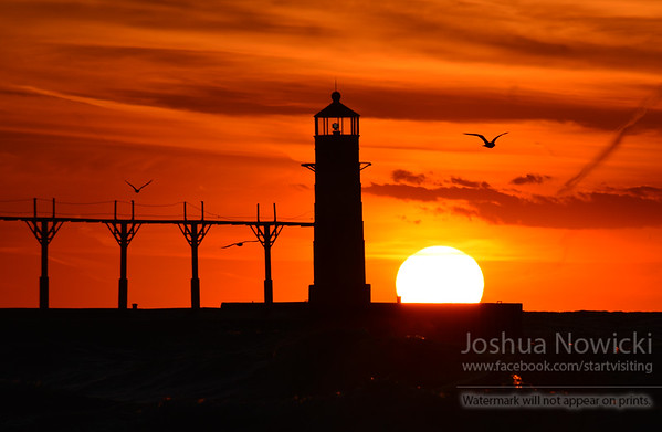 Lighthouse - Saint Joseph, MI