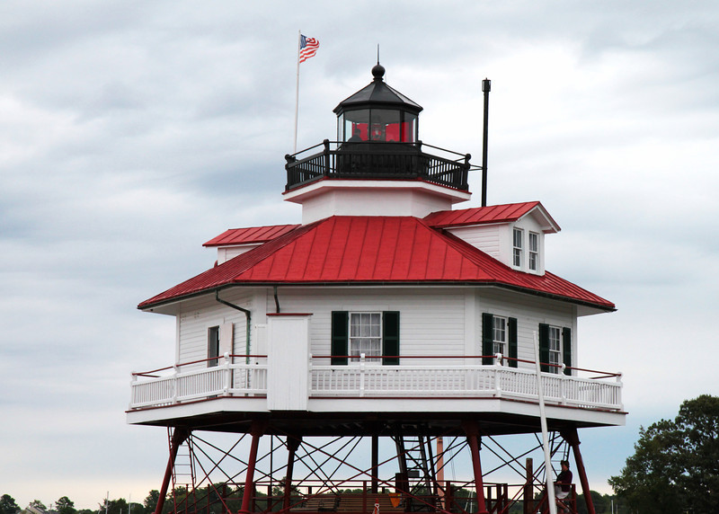 Drum Point Lighthouse (1883), Solomons, MD