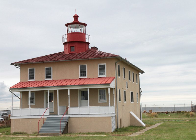 Point Lookout Lighthouse (1830), Scotland, MD