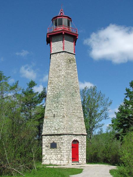 Gibralter Point Lighthouse (1808), Toronto Island, Toronto, ON