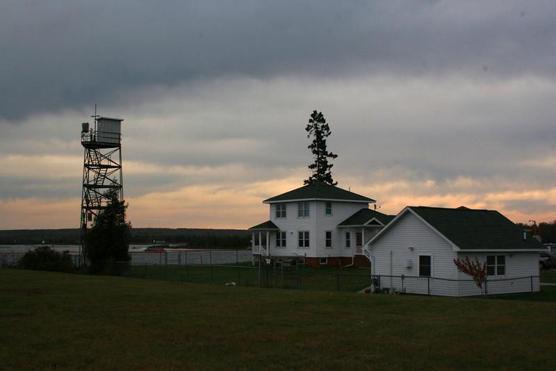 Bayfield Rock Rear Range Light (ca. 1913)