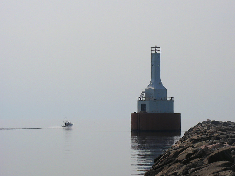 Keweenaw Waterway Upper Entrance Light