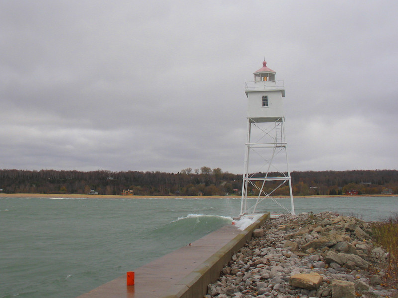 Grand Marais Harbor Rear Range Light