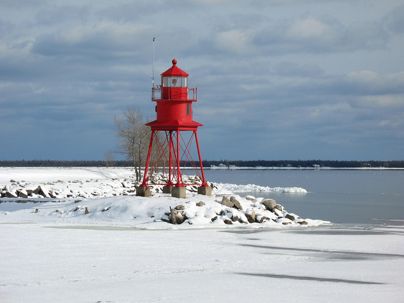 Alpena North Breakwater Light