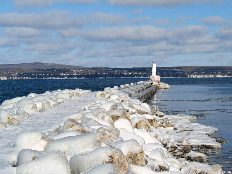 Petoskey Pierhead Light