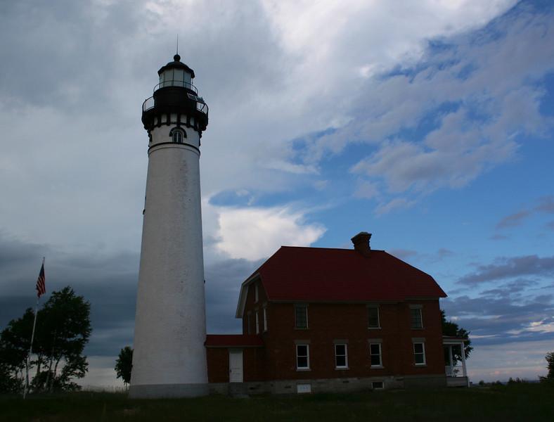 Au Sable Point Lighthouse (ca. 1874)
