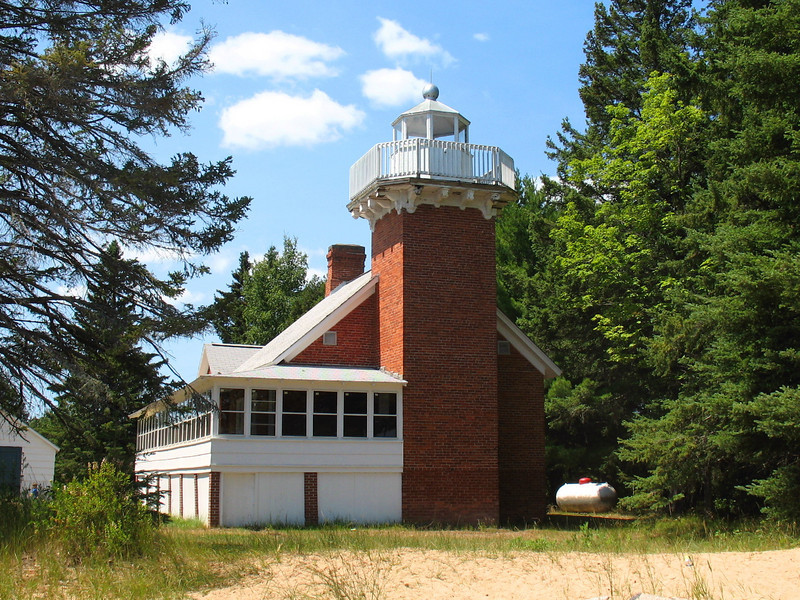 Sand Point Lighthouse (Baraga)