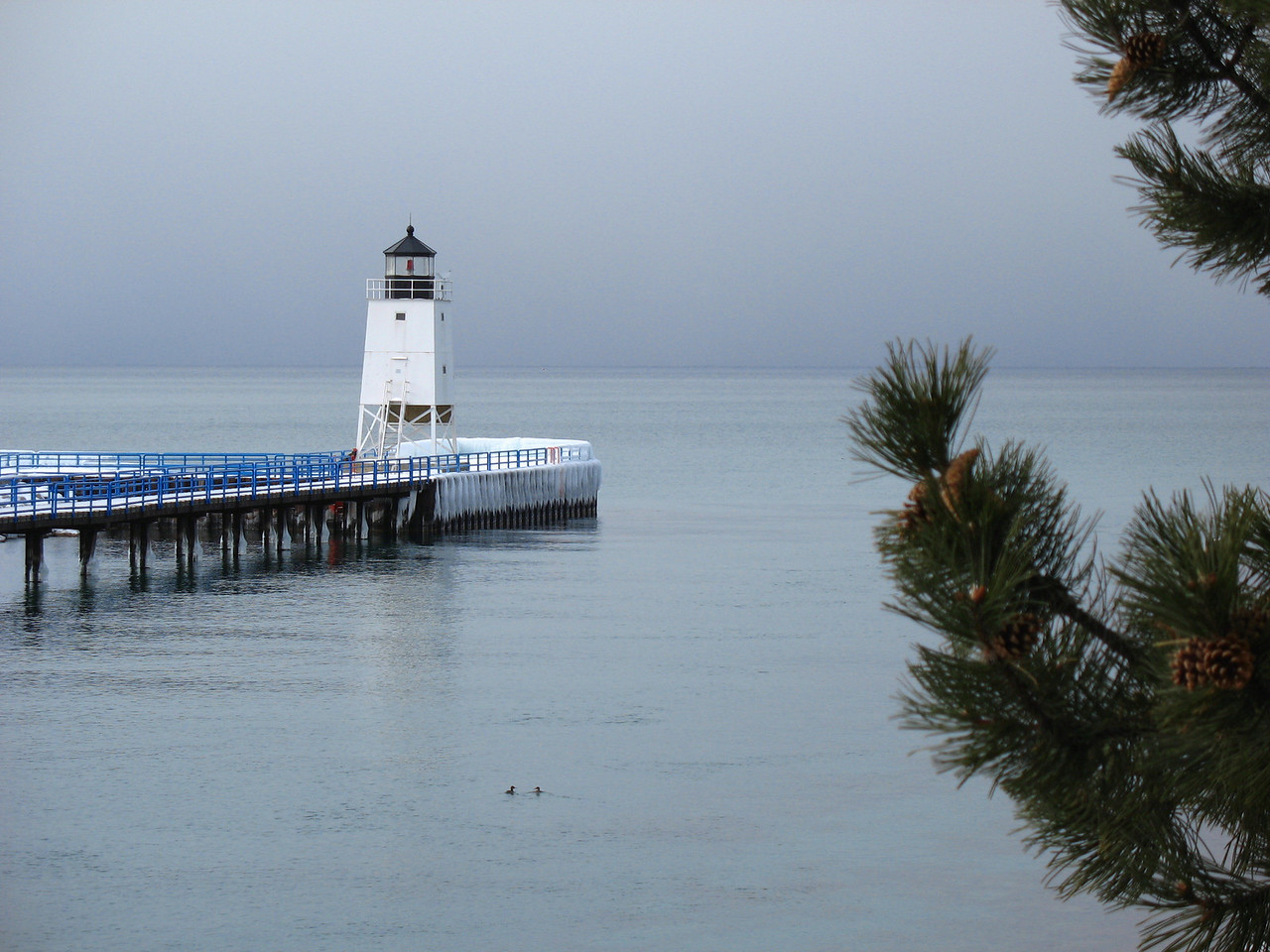 Charlevoix Pierhead Lighthouse