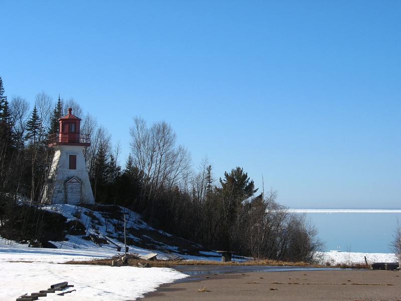 Coppermine Point Lighthouse