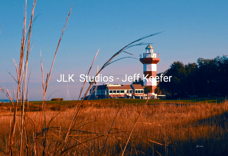 9.  Lighthouse from 18th landing area -