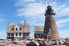 The tower was designed by the famous architect Alexander Parris.  In the mid-1800's Parris designed many granite lighthouse towers which stand to this day:<br /> 1839 - Saddleback Ledge Lighthouse, Maine<br /> 1847 - Mount Desert Rock Lighthouse,<br /> 1848 - Libby Island Lighthouse, Machiasport, Maine, at the entrance to Machias Bay<br /> 1848 - Matinicus Rock Lighthouse, 6 miles south of Matinicus Island, Maine<br /> 1848 - Whitehead Island Lighthouse, Whitehead Island, Maine—southern entrance to Penobscot Bay<br /> 1849 - Execution Rocks Lighthouse, Long Island Sound, New York<br /> 1850 - Monhegan Island Lighthouse, Monhegan Island, Maine
