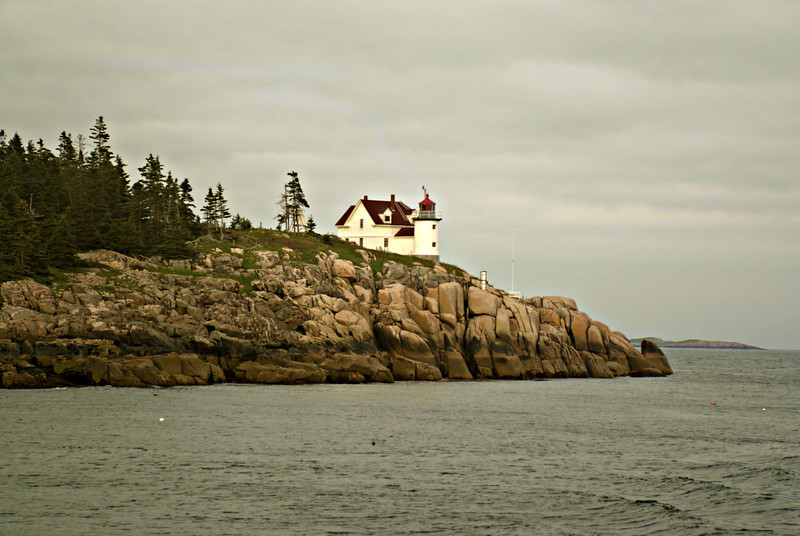 Heron Neck Light on Greens Island just off Vinalhaven.