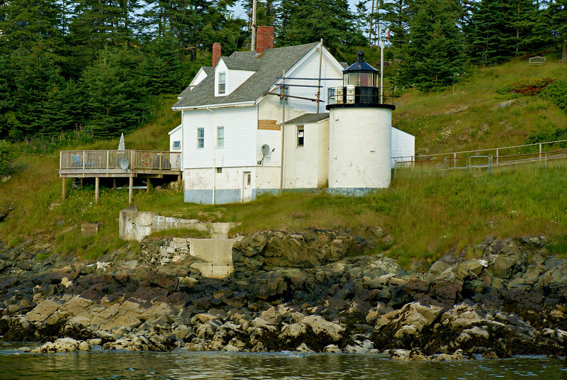 The Browns Head Light now serves as the residence of Vinalhaven's Town Manager