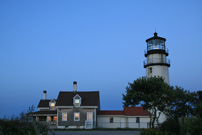Highland Lighthouse at Truro, MA on the Cape Cod National Seashore