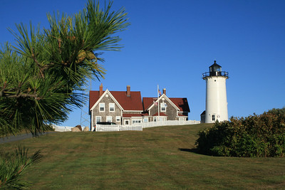 Nobska Lighthouse from the front.