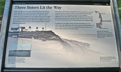 The Three Sisters Lighthouses history