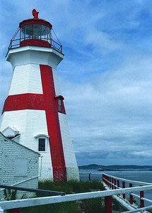 East Quoddy Lighthouse on Campobello Island, New Brunswick