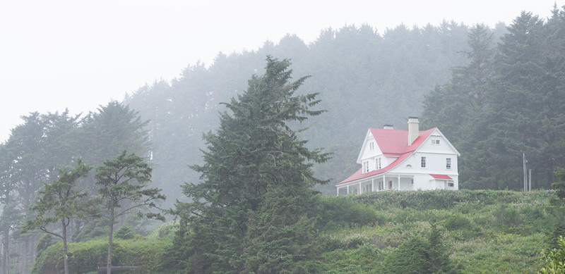 Heceta Head Light Keepers House ~ Oregon Coast