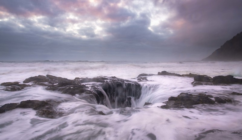 Thor's Well ~ Oregon Coast