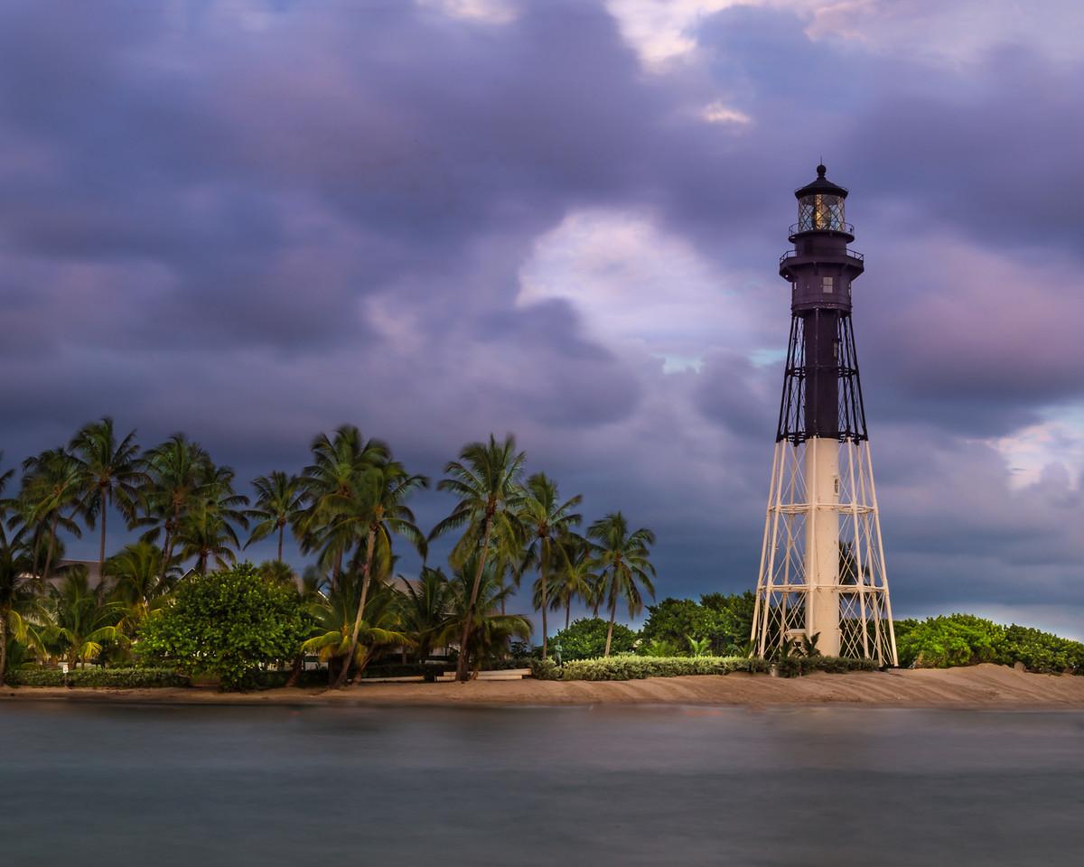 Last light at the Hillsbrough Lighthouse