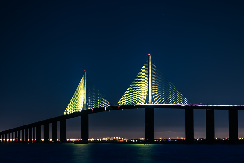 Skyway Bridge from south pier