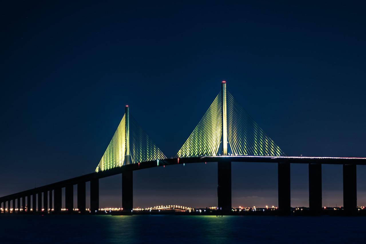 Skyway Bridge from south pier