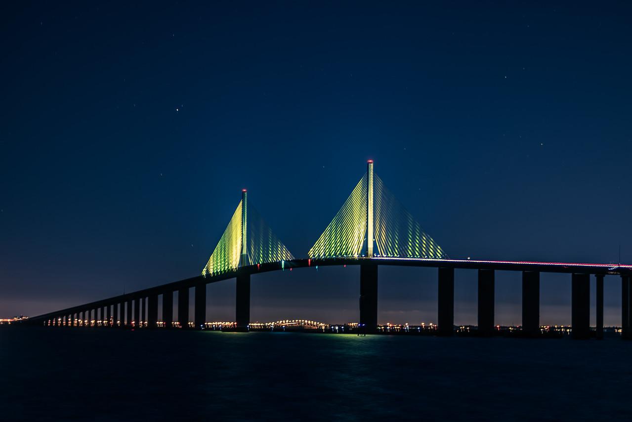 Skyway Bridge from south pier 3