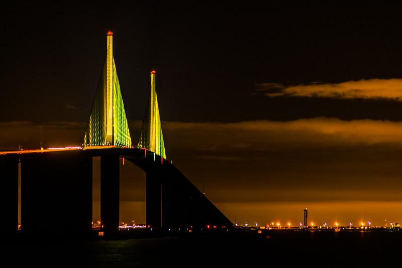 Skyway Bridge from north pier 2