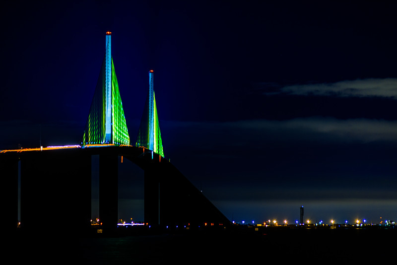 Skyway Bridge from north pier