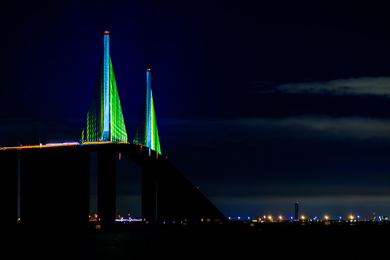 Skyway Bridge from north pier