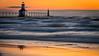 Orange Sunset after the storm
