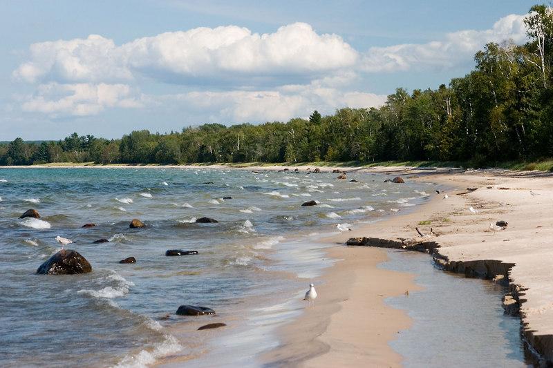 Lake Superior near Paradise