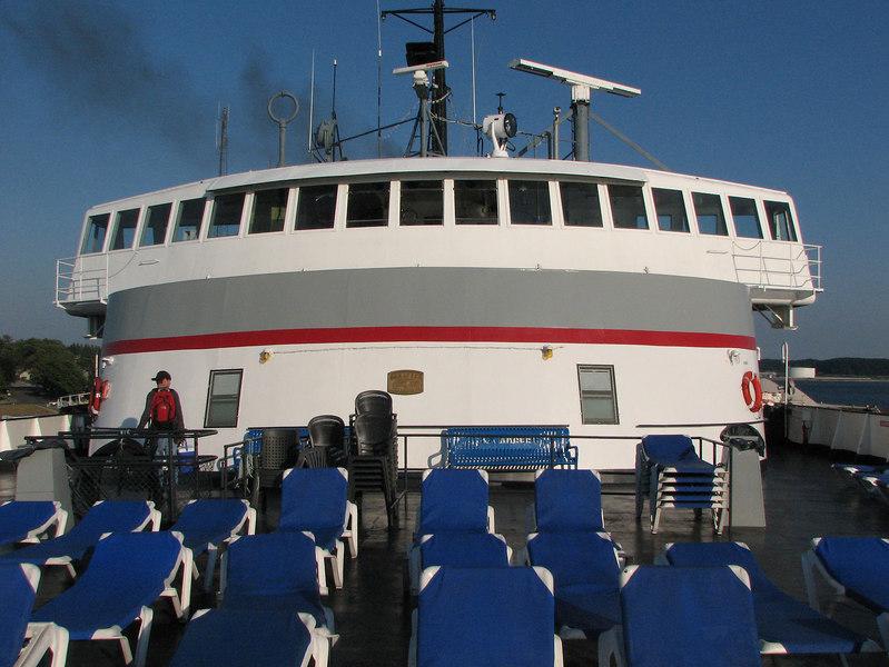 Lake Michigan Car Ferry S.S. Badger