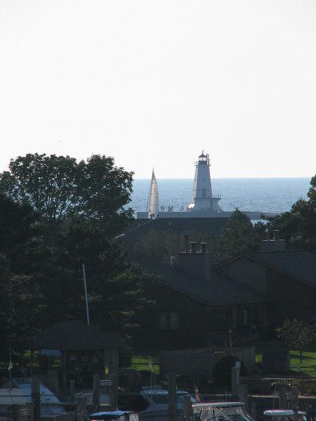 Ludington North Pierhead Lighthouse