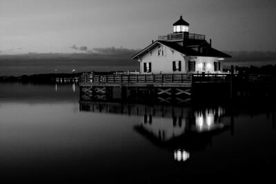 """Roanoke Marshes Lighthouse"""