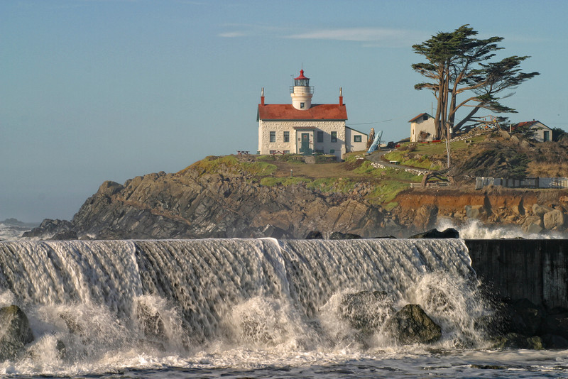 Battery Point Lighthouse. Crescent City, California 1036
